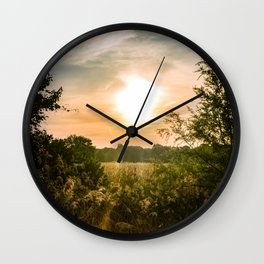 Perfectly Peaceful Wall Clock