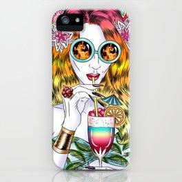 Beach Frenzy iPhone Case