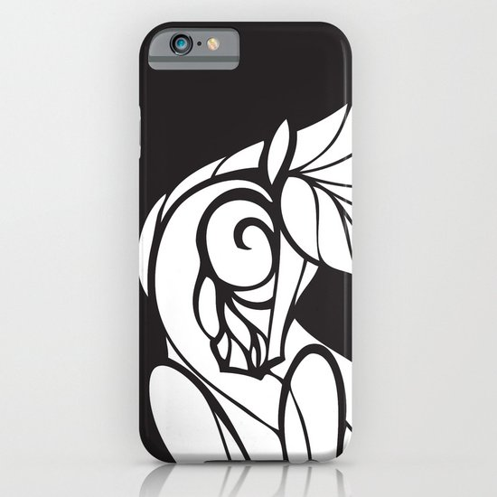 Horse Swirls 2 iPhone & iPod Case