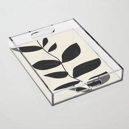 minimal plant Acrylic Tray