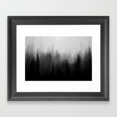 Fog Dream Framed Art Print