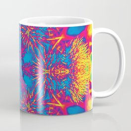 Vibrant thistle mandala Coffee Mug