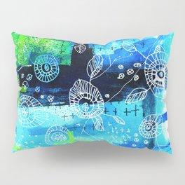 Blooms + Crosses Pillow Sham