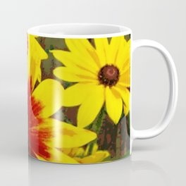 Flower | Flowers | Gaillardia Flower Garden | Nature Coffee Mug