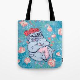 Pretty Pug Tote Bag