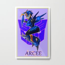 Arcee Metal Print