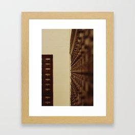 Card Catalog 2 Framed Art Print