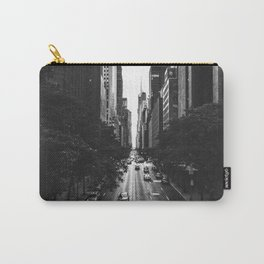 New York City (Black and White) Carry-All Pouch