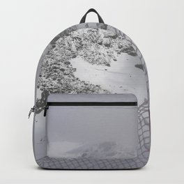 Snow is whiter on the other side Backpack