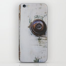 Door / Photography Print / Photography / Color Photography iPhone Skin