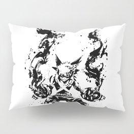 Bakugo Katsuki Ink Splatter Pillow Sham