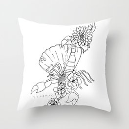 // Scorpio // Throw Pillow