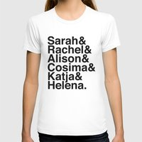 orphan black T-shirts featuring Orphan Black by Elanor Jarque