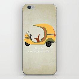 Coco Taxi - Cuba in my mind iPhone Skin