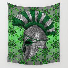 Spartan Helmet Wall Tapestry