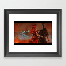 Keyleth will remember this Framed Art Print