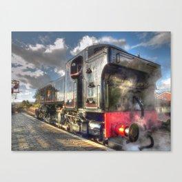 Steam Locomotive 1501 at Bewdley Canvas Print