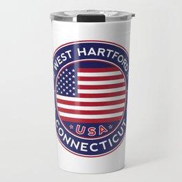 West Hartford, Connecticut Travel Mug