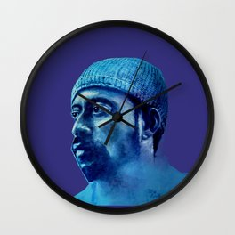 MADLIB - purple version Wall Clock