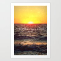 infinite Art Prints featuring Infinite by Oh, Good Gracious!