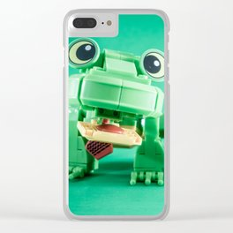 Frogger Clear iPhone Case