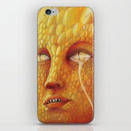 Draco half unveiled iPhone Skin
