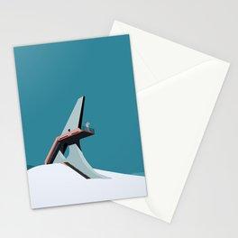 Soviet Modernism: Viewing platform in Sevan Stationery Cards
