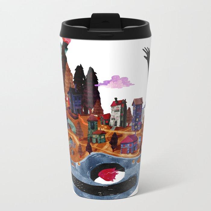 the island Metal Travel Mug