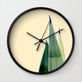 Pencil Plant Wall Clock