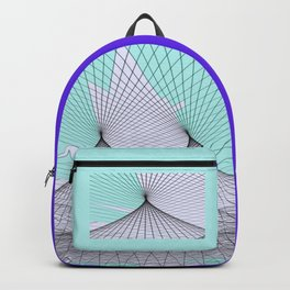 Abstract Desert Illussion Backpack