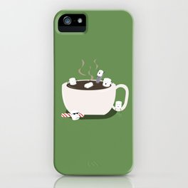 Marshmallow Hot Tub iPhone Case