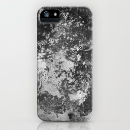 Urban Decay - Black & White Painting iPhone Case