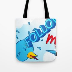 follow me! Tote Bag