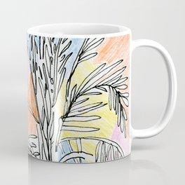 Pastel Palms Coffee Mug