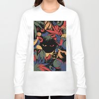 tropical Long Sleeve T-shirts featuring TROPICAL by A\BESTIAL