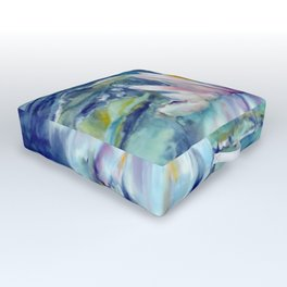 water lily Outdoor Floor Cushion