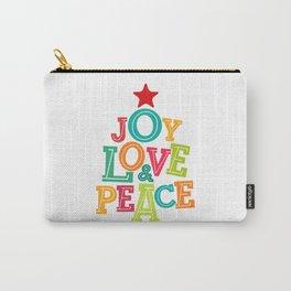 Joy, Love & Peace Carry-All Pouch