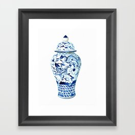 GINGER JAR NO 7  Framed Art Print