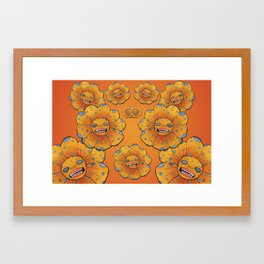 Flower2 Framed Art Print