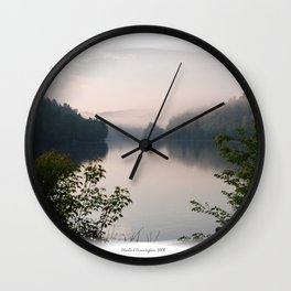 The Gatineau River Wall Clock