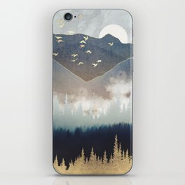 Blue Mountain Mist iPhone Skin