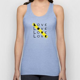 LOVE yourself - others - all animals - our planet Unisex Tank Top