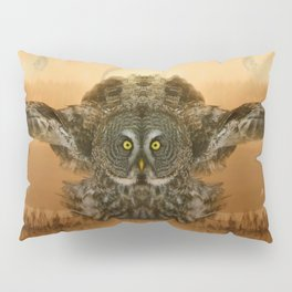 The greatest great gray of them all Pillow Sham