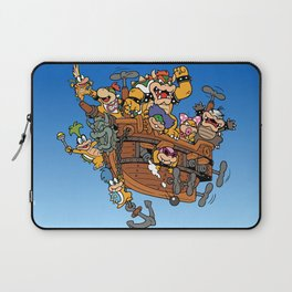 Father and His Children Laptop Sleeve