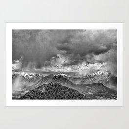 Ominous Skies Art Print