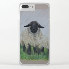 Suffolk Rams Clear iPhone Case