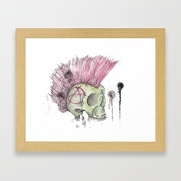 Anarchy  Framed Art Print