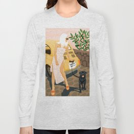 Tour #illustration Long Sleeve T-shirt