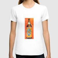 ale giorgini T-shirts featuring BEER ART - Oberon Ale by Dorrie Rifkin Watercolors