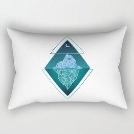 Iceberg Geometric Rectangular Pillow